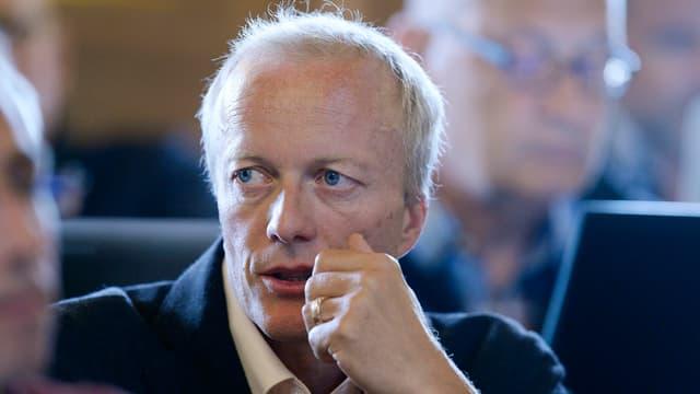 Christoph Ziegler, GLP-Kantonsrat seit 2011 und Gemeindepräsident von Elgg.