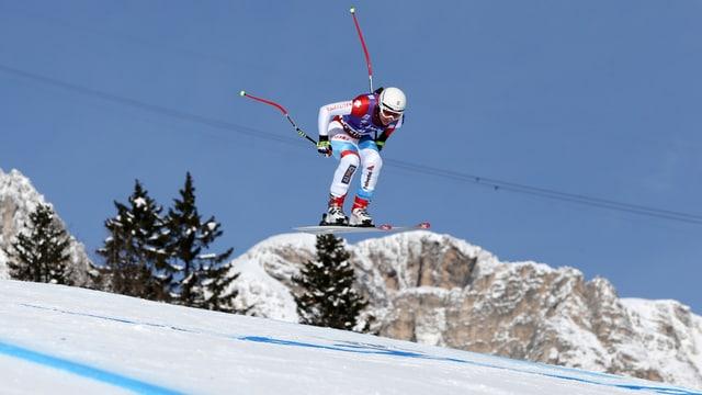 Fabienne Suter war im 1. Training die schnellste Schweizerin.