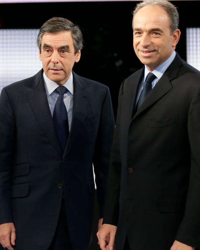 François Fillon (links) und Jean-François Copé.