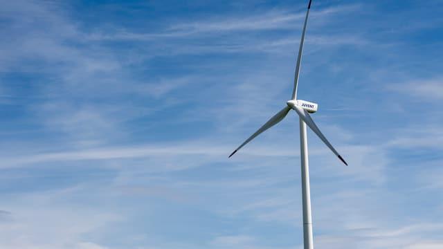Windkraft-Analge.