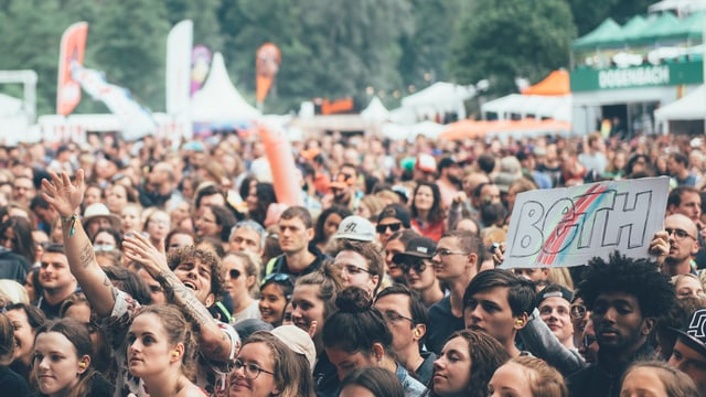 Beste Festival-Stimmung am Open Air St. Gallen (2017)