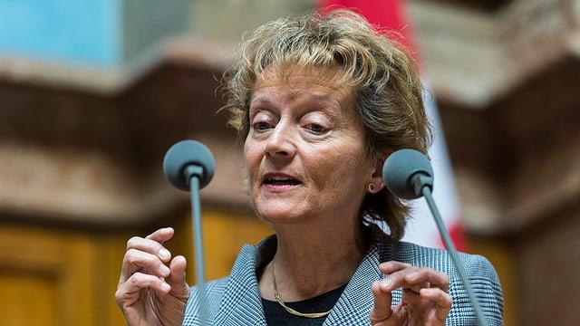 Cussegliera federala Eveline Widmer Schlumpf