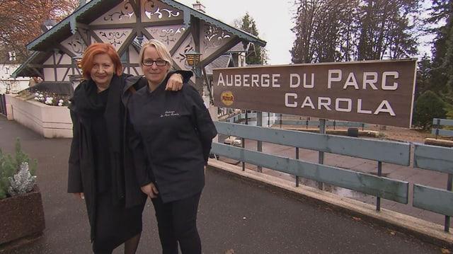 Video «Elsass – Tag 5 – Auberge du Parc Carola, Ribeauvillé» abspielen