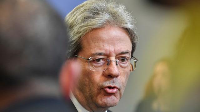 Italiens Premierminister Paolo Gentilonie (Partito Democratico) hofft, am 4. März gegen die Rechtspopulisten zu gewinnen.