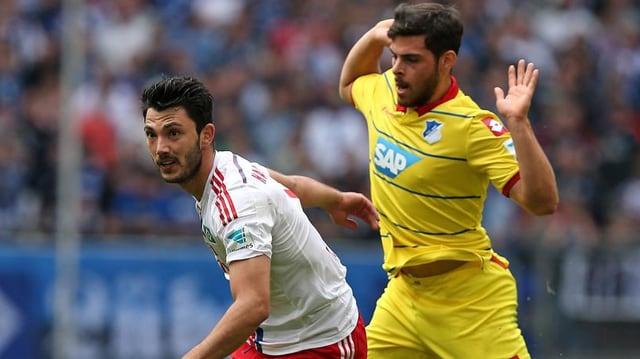Der HSV und Hoffenheim trennten sich unentschieden.