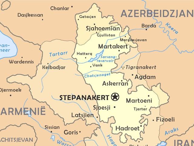 Bergkarabach bleibt eine umstrittene Region, welche zu Aserbaidschan zählt.