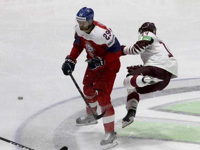 WM-Spiele vom Donnerstag - Tschechien dreht Partie gegen Lettland