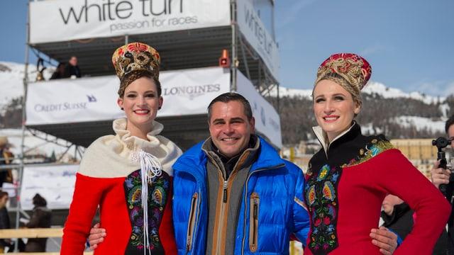 Silvio Martin Staub è sa retratgs sco CEO dal White Turf a San Murezzan.