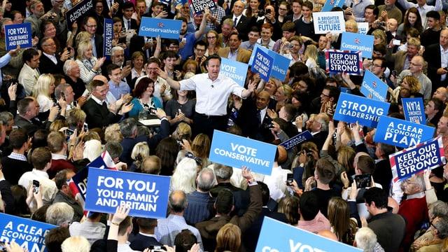Grossbritannien hat gewählt