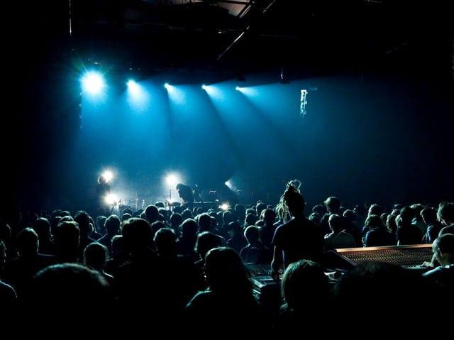 Blick in Konzertsaal