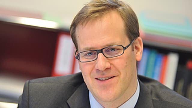 Der Schwyzer Finanzdirektor Kaspar Michel im Portrait.