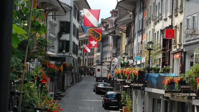 Altstadtgasse in Thun