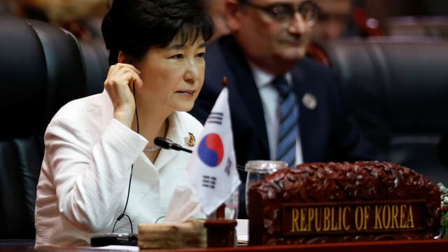 Südkorea Präsidentin Park Geun Hye