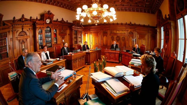 Blick ins Bundesratszimmer