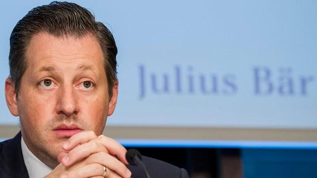 Tenor il schef da concern, Boris Colliardi è quai stà in dals megliers semesters per la Julius Bär.