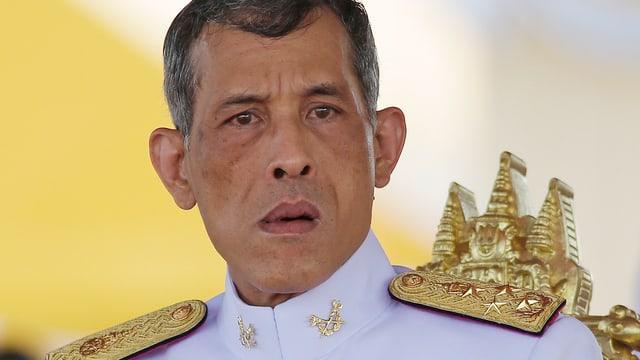 Thailändischer Prinz in Uniform.