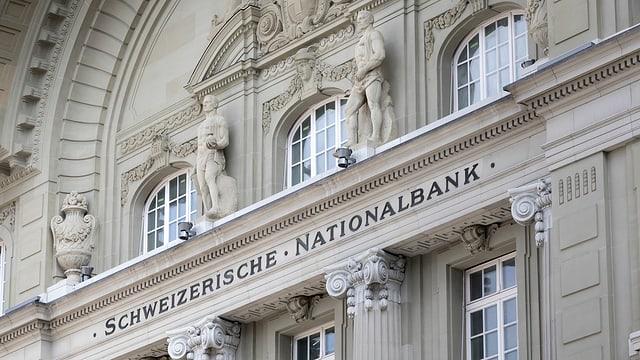 Sedia da la Banca naziunala svizra a Berna.