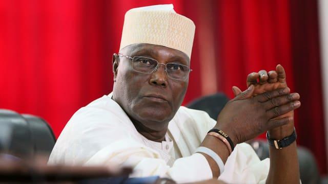 Der frühere Vizepräsident Nigerias, Atiku Abubakar.