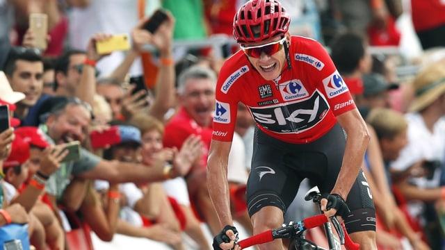 Chris Froome an der Vuelta