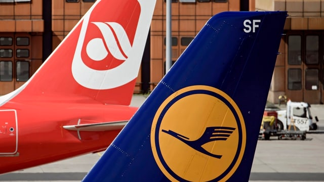 81 Flugzeuge und 3000 Mitarbeiter will die Lufthansa von der Air Berlin übernehmen.