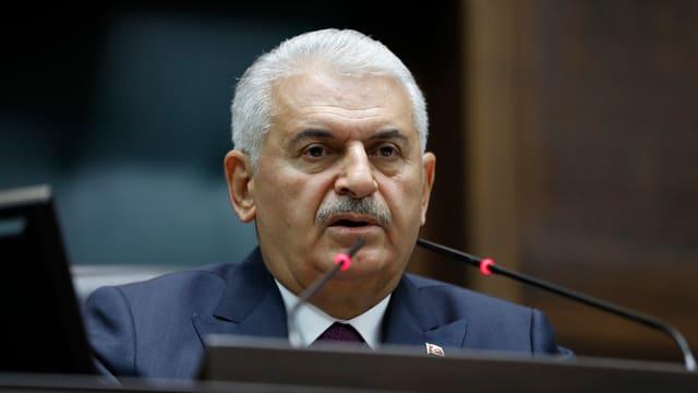 Noch-Ministerpräsident Binali Yildirim.