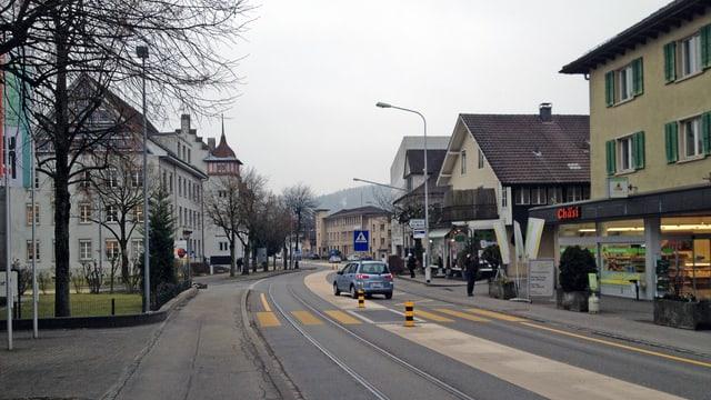 Dorfstrasse in Suhr
