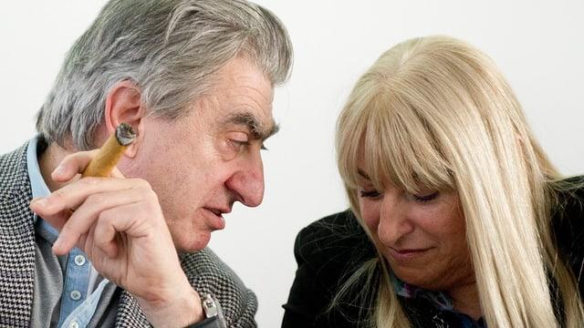 NIck und Nayla Hayek.
