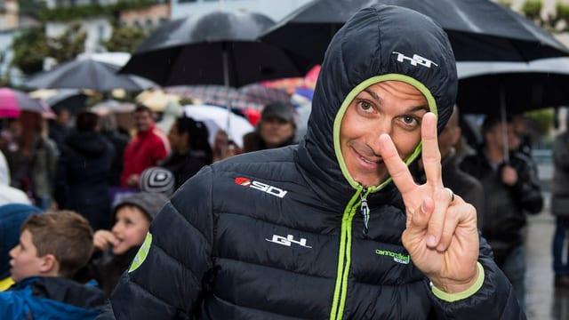 Ivan Basso bei der Tour de Romandie 2014