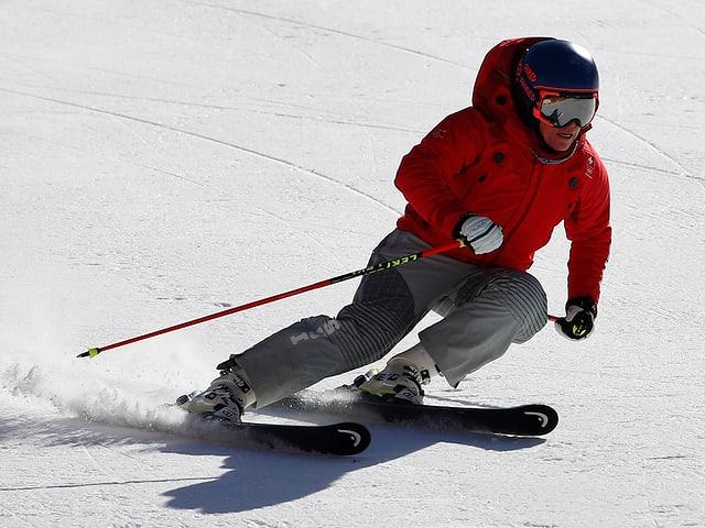 Lara Gut im Skianzug.