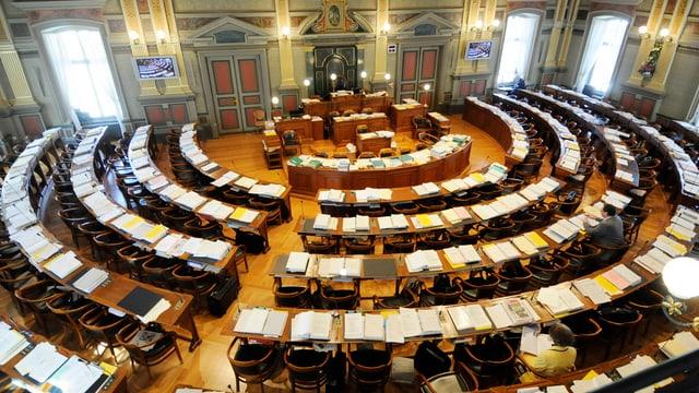 Saal des Kantonsrat St. Gallen