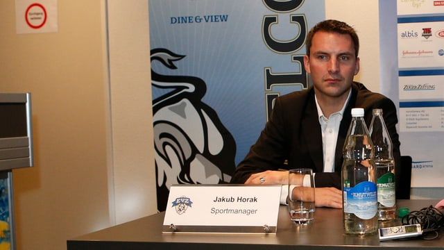 EVZ-Sportchef Jakub Horak weht derzeit ein eisiger Wind entgegen.