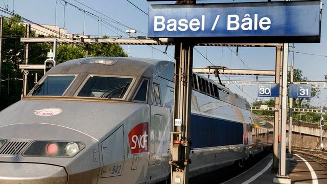 In TGV a Basilea