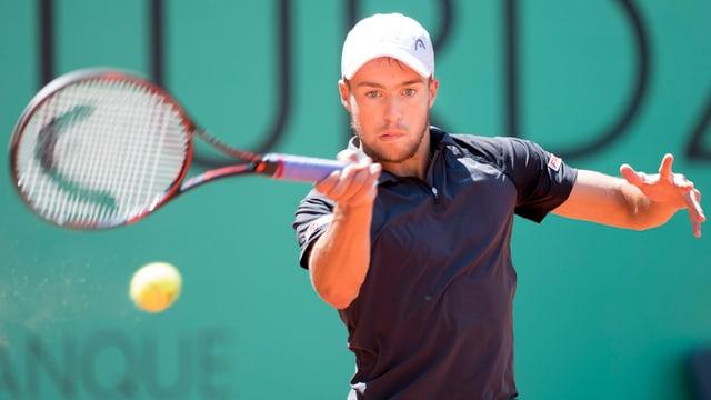 Der Genfer Johan Nikles steht beim Doppel in Genf kampflos in der Vorschlussrunde.