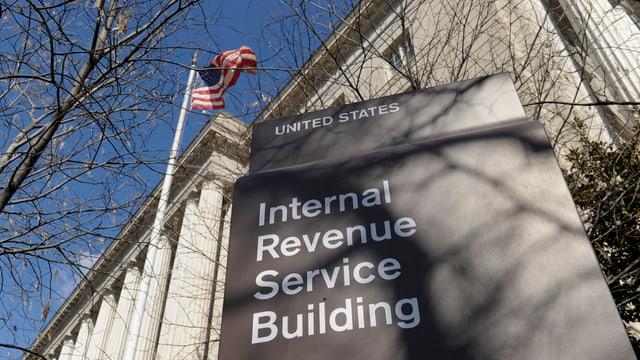 Gebäude der US-Steuerbehörde IRS