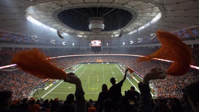 Am 5. Juli findet das WM-Endspiel in dieser Spielstätte von Edmonton statt.