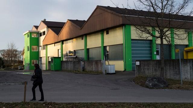 Gebäude der Bima-Energie AG in Münchwilen