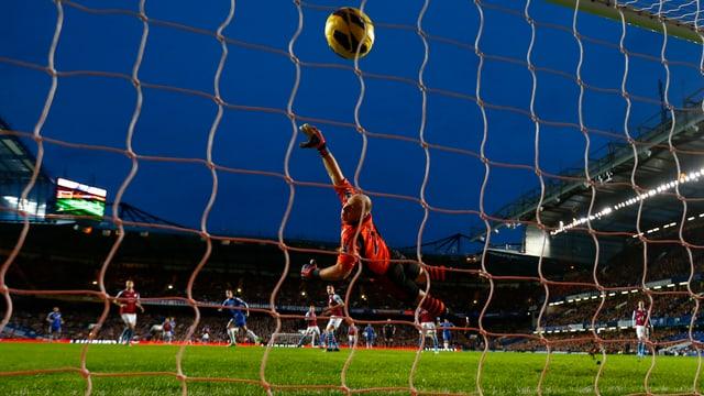 In der Premier League fallen auch an Weihnachten Tore.