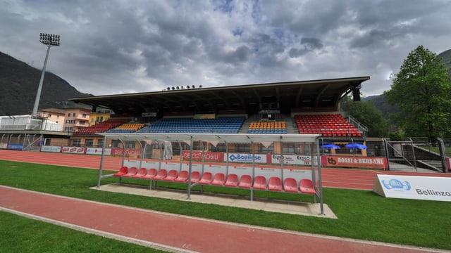 Im Stadio Comunale, der Heimstätte der AC Bellinzona, wird bis auf Weiteres nicht mehr gespielt.