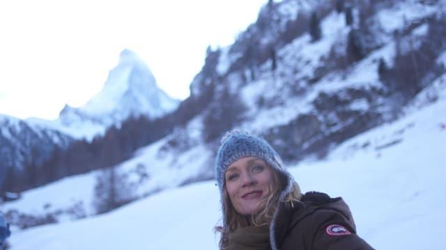 Video ««Kulturplatz» mit Eva Wannenmacher in Schnee und Eis» abspielen