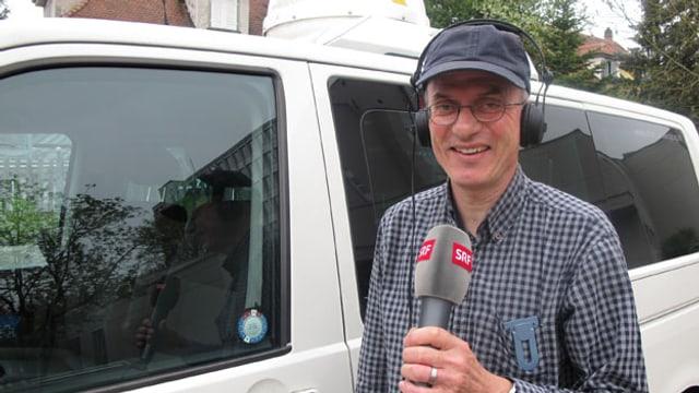 Schicken Sie uns einen Vorschlag, für wen Reporter Jürg Oehninger am 2. Mai arbeiten soll.