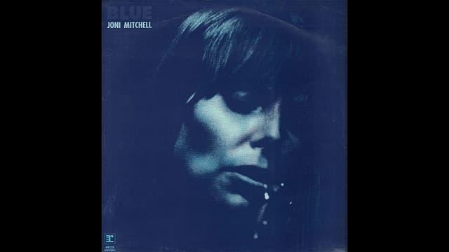 Cover da l'album da Joni Mitchell cul titel Blue