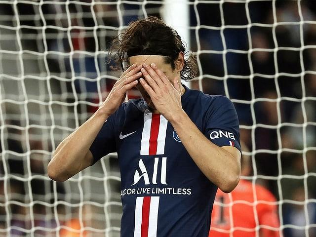 Edinson Cavani von Tabellenführer Paris St-Germain.