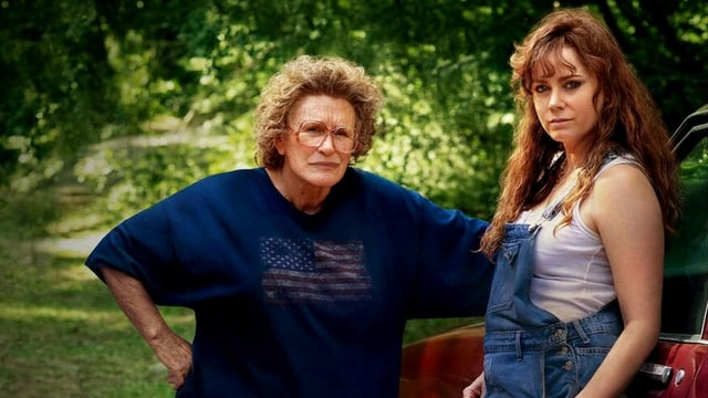 Glenn Close und Amy Adams, verkleidet als arme Leute für das Rührstück «Hillbilly Elegy».