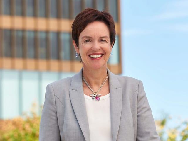 Wahlkampffoto von Monica Gschwind.