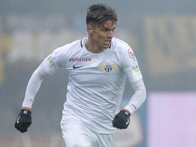 Joël Untersee absolvierte 2019 zehn Pflichtspiele für den FCZ.