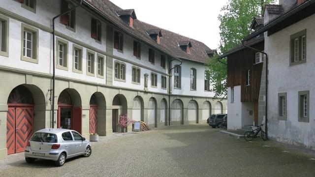Blick in den Burgdorfer Schlosshof