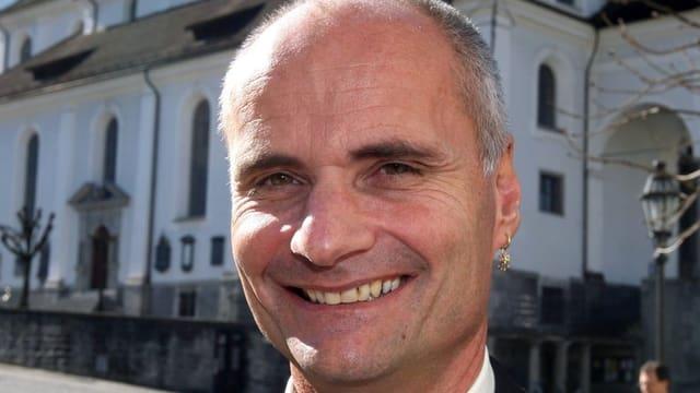 Porträtbild von Ueli Amstad, Regierungsrat des Kantons Nidwalden.
