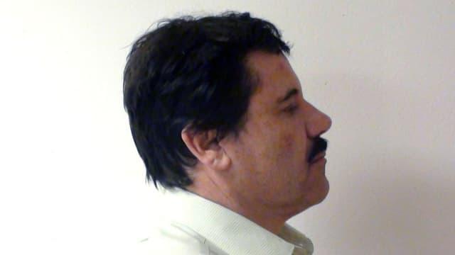 """Joaquin Guzman, che vegn numnà """"El Chapo""""."""