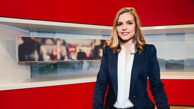 Moderatorin Katharina Locher