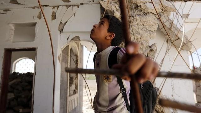 Kind aus Jemen